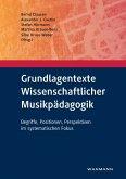 Grundlagentexte Wissenschaftlicher Musikpädagogik