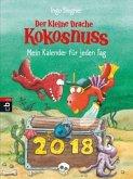 Der kleine Drache Kokosnuss - Mein Kalender für jeden Tag 2018 Abreißkalender