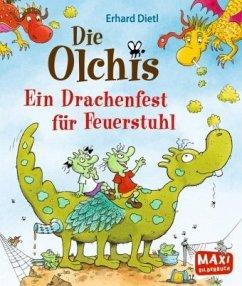 Die Olchis - Ein Drachenfest für Feuerstuhl - Dietl, Erhard