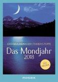 Das Mondjahr 2018 s/w-Taschenkalender