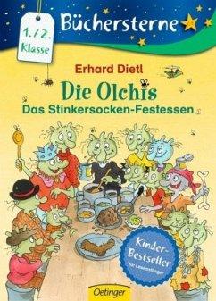 Das Stinkersocken-Festessen / Die Olchis Büchersterne 1. Klasse Bd.8 - Dietl, Erhard