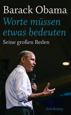 »Worte müssen etwas bedeuten« (eBook, ePUB) - Obama, Barack
