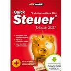 QuickSteuer Deluxe 2017 (für Steuerjahr 2016) (Download für Windows)