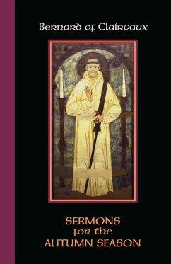 Sermons for the Autumn Season (eBook, ePUB) - Bernard of Clairvaux