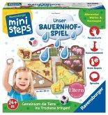Ravensburger 045105 - ministeps® Unser Bauernhof-Spiel
