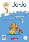 Jo-Jo Sprachbuch 3. Schuljahr - Allgemeine Ausgabe - Arbeitsheft
