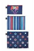 LOQI Zip Pockets NAUTICAL Ahoy - Stripes - Classic
