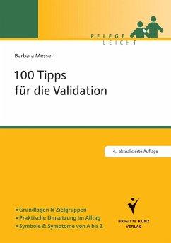 100 Tipps für die Validation (eBook, ePUB) - Messer, Barbara
