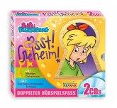 Bibi Blocksberg - CD-Box: Psst! Geheim!, 2 Audio-CDs