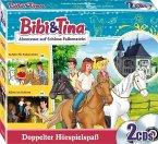 Bibi & Tina - Abenteuer auf Schloss Falkenstein, 2 Audio-CDs