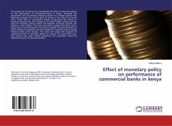 Effect of monetary policy on performance of commercial banks in kenya