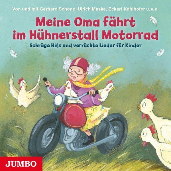 meine oma f hrt im h hnerstall motorrad audio cd von gerhard sch ne ulricha 10002049287 maske