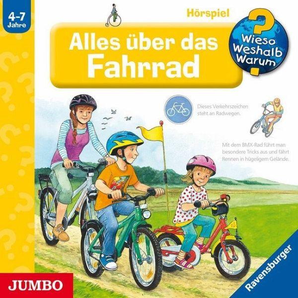 Alles über das Fahrrad / Wieso? Weshalb? Warum? Bd.63 (Audio-CD) - Gernhäuser, Susanne