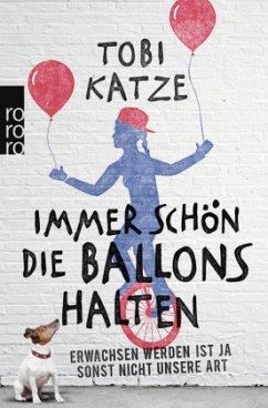 Immer schön die Ballons halten - Katze, Tobi