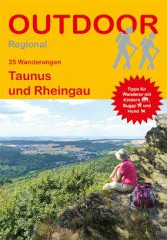 25 Wanderungen Taunus und Rheingau - Preschl, Andrea