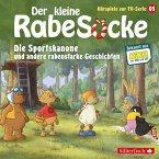 Der kleine Rabe Socke - Die Sportskanone und andere rabenstarke Geschichten, 1 Audio-CD