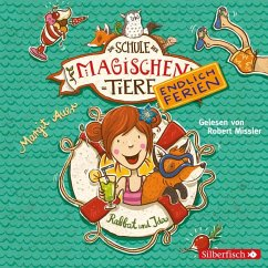 Rabbat und Ida / Die Schule der magischen Tiere - Endlich Ferien Bd.1 (2 Audio-CDs) - Auer, Margit