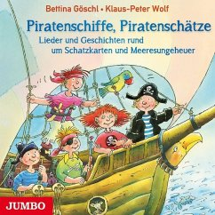 Piratenschiffe, Piratenschätze, 1 Audio-CD - Wolf, Klaus-Peter; Göschl, Bettina