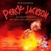 Percy Jackson - Auf Monsterjagd mit den Geschwistern Kane, 3 Audio-CDs