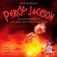 Percy Jackson - Auf Monsterjagd mit den Geschwistern Kane, 3 Audio-CDs - Riordan, Rick