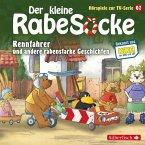 Der kleine Rabe Socke - Rennfahrer und andere rabenstarke Geschichten, 1 Audio-CD