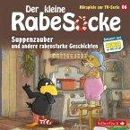 Der kleine Rabe Socke - Suppenzauber und andere rabenstarke Geschichten, 1 Audio-CD
