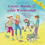 Conni, Mandy und das wilde Wochenende / Conni & Co Bd.13 (2 Audio-CDs)