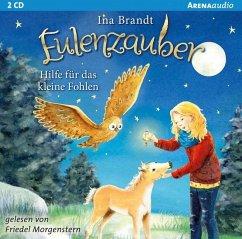 Hilfe für das kleine Fohlen / Eulenzauber Bd.6 (Audio-CD) - Brandt, Ina