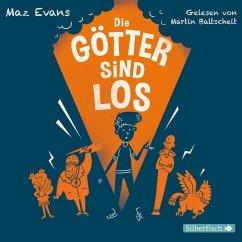 Die Götter sind los / Die Chaos-Götter Bd.1 (4 Audio-CDs) - Evans, Maz