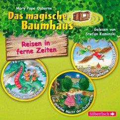 Das magische Baumhaus. Reisen in ferne Zeiten. Die Hörbuchbox, 3 Audio-CDs - Pope Osborne, Mary