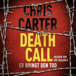 Death Call - Er bringt den Tod / Detective Robert Hunter Bd.8 (2 MP3-CDs) - Carter, Chris
