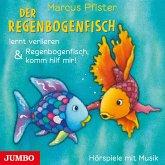 Der Regenbogenfisch lernt verlieren & Regenbogenfisch, komm hilf mir!, 1 Audio-CD