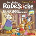 Der kleine Rabe Socke - Das Geburtstagsgeschenk und andere rabenstarke Geschichten, 1 Audio-CD