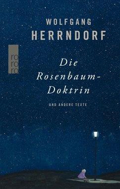 Die Rosenbaum-Doktrin - Herrndorf, Wolfgang