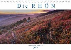 9783665580049 - Hempe, Manfred: Die Rhön (Tischkalender 2017 DIN A5 quer) - Buch