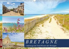 9783665580339 - Heuvers, Elly: Bretagne - Unterwegs im Nord-Westen (Wandkalender 2017 DIN A3 quer) - Buch