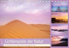 9783665580193 - Travelpixx.com: Lichterspiele der Natur (Tischkalender 2017 DIN A5 quer) - Buch