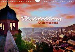 9783665580667 - Bartruff, Thomas: Heidelberg - Ansichtssache (Wandkalender 2017 DIN A4 quer) - Buch