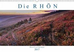 9783665580032 - Hempe, Manfred: Die Rhön (Wandkalender 2017 DIN A3 quer) - Buch