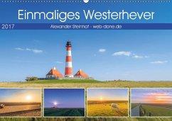 9783665580872 - Steinhof, Alexander: Einmaliges Westerhever (Wandkalender 2017 DIN A2 quer) - Buch