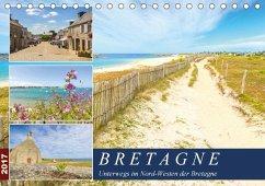 9783665580346 - Heuvers, Elly: Bretagne - Unterwegs im Nord-Westen (Tischkalender 2017 DIN A5 quer) - Buch
