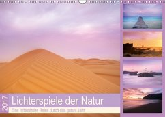 9783665580186 - Travelpixx.com: Lichterspiele der Natur (Wandkalender 2017 DIN A3 quer) - Buch