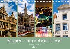 9783665580018 - Lambrecht, Markus W.: Belgien - traumhaft schön! (Tischkalender 2017 DIN A5 quer) - Buch