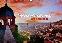 9783665580674 - Bartruff, Thomas: Heidelberg - Ansichtssache (Wandkalender 2017 DIN A3 quer) - Buch