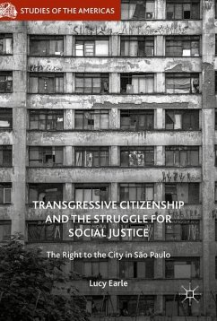 Transgressive Citizenship and the Struggle for Social Justice - Earle, Lucy