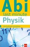 Klett Abi last minute Physik