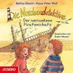 Der versunkene Piratenschatz / Die Nordseedetektive Bd.5 (1 Audio-CD)