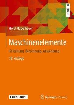 Maschinenelemente - Haberhauer, Horst