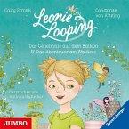 Das Geheimnis auf dem Balkon & Das Abenteuer am Waldsee / Leonie Looping Bd.1+2 (Audio-CD)