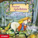 Rapunzel und der Spuk im Wald / Ponyhof Apfelblüte Bd.8 (1 Audio-CD)